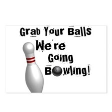 Grab your balls Postcards (Package of 8)