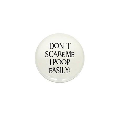 I POOP EASILY! Mini Button