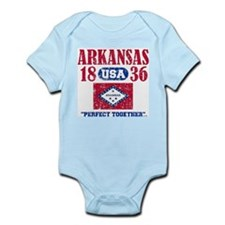 "ARKANSAS / USA 1836 STATEHOOD ""PERFECT T Body Suit"