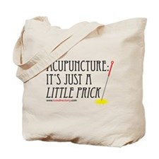Acupuncture: Little Prick Canvas Tote