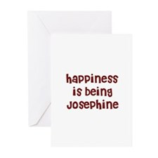 happiness is being Josephine Greeting Cards (Packa