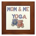 Mom & Me Yoga Framed Tile