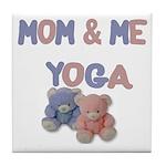 Mom & Me Yoga Tile Coaster