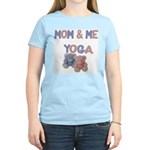 Mom & Me Yoga Women's Light T-Shirt