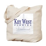 Key West Sailboat - Tote or Beach Bag