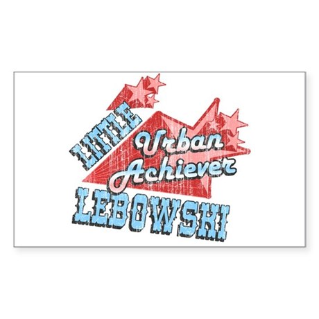 Lebowski Urban Achiever Rectangle Sticker
