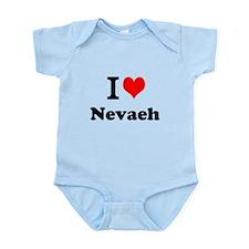 I Love Nevaeh Body Suit