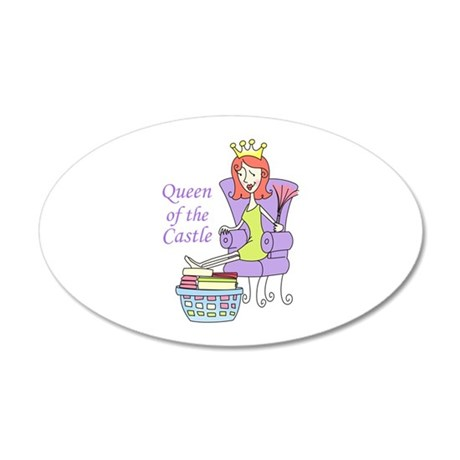 QUEEN OF THE CASTLE Wall Decal