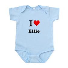 I Love Ellie Body Suit