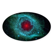 Helix Nebula Oval Decal