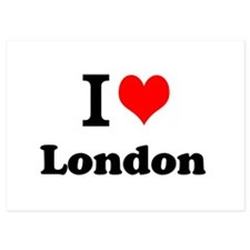 I Love London Invitations