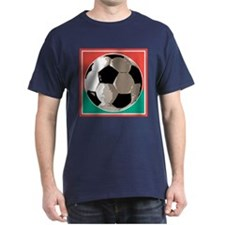 Italian Soccer Ball Design T-Shirt