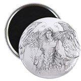 "Angel Mihdael 2.25"" Magnet (10 pack)"