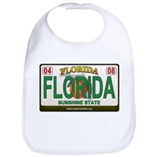 Florida License Plate Bib