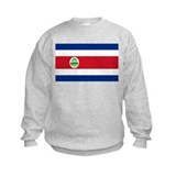 Costa Rica Flag Sweatshirt