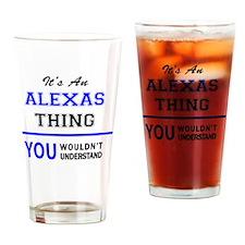 Funny Alexa Drinking Glass