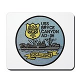 USS BRYCE CANYON Mousepad