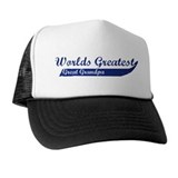 Greatest Great Grandpa (blue) Hat