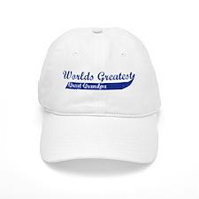 Greatest Great Grandpa (blue) Baseball Cap