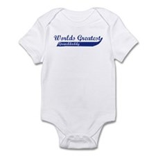 Greatest Granddaddy (blue) Infant Bodysuit