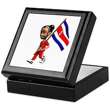 Costa Rica Girl Keepsake Box
