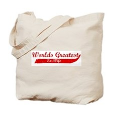 Greatest Ex-Wife (red) Tote Bag