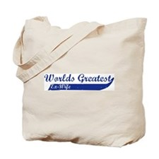 Greatest Ex-Wife (blue) Tote Bag