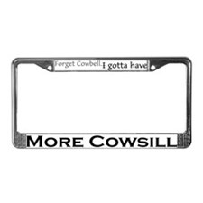 More Cowsill License Plate Frame