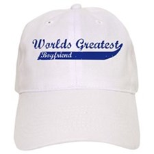 Greatest Boyfriend (blue) Baseball Cap