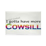 More Cowsill Rainbow Rectangle Magnet (100 pack)
