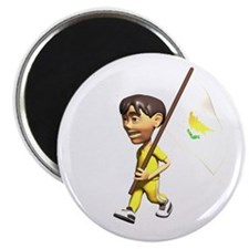 "Cyprus Boy 2.25"" Magnet (100 pack)"