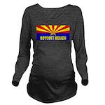 Boycott Mexico Long Sleeve Maternity T-Shirt