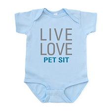 Live Love Pet Sit Body Suit