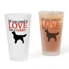 Funny Lover valentines Drinking Glass