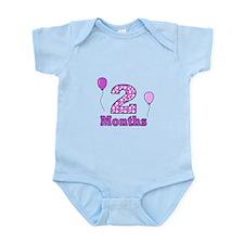 2 Months - Purple Polka Dot Body Suit