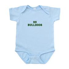 Bulldogs-Fre dgreen Body Suit