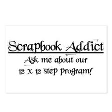 12x12 Step Program Postcards (Package of 8)