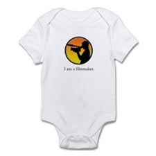 i am a filmmaker Infant Bodysuit