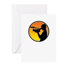 Plain Film Logo Greeting Cards (Pk of 10)
