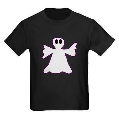 Halloween Ghost Kids Dark T-Shirt