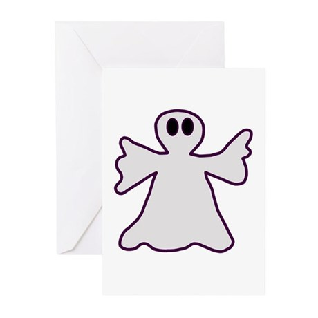 Halloween Ghost Greeting Cards (Pk of 10)