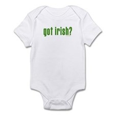 got irish? Infant Bodysuit