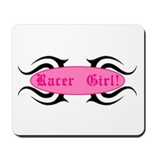 Racer Girl Mousepad
