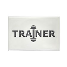 Trainer Metal Rectangle Magnet