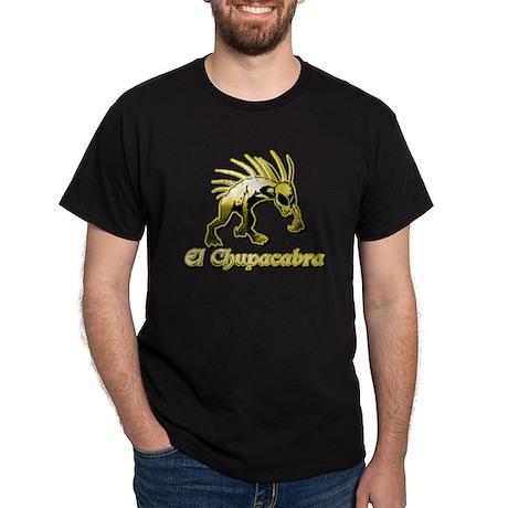 Chupacabra Yellow Dark T-Shirt