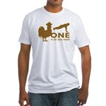 Cock Push Up Fitted T-Shirt