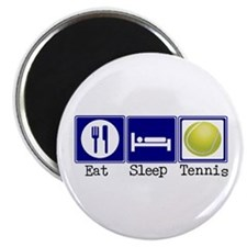 "Eat, Sleep, Tennis 2.25"" Magnet (10 pack)"