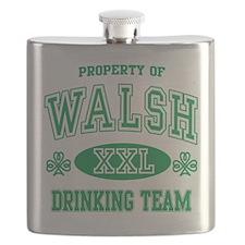 Walsh Irish Drinking Team.png Flask