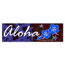 Aloha 2 Bumper Bumper Sticker