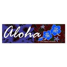 Aloha 2 Bumper Car Sticker